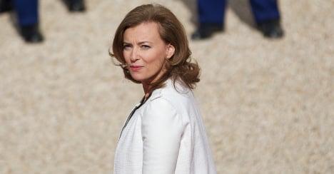 First lady Trierweiler slams own 'bullshit' mag