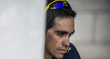 Cyclist Contador ducks court in doping case