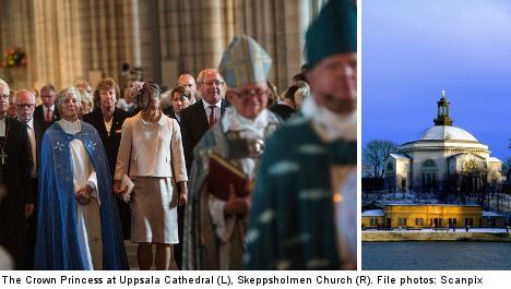 City dwellers abandon the Swedish church