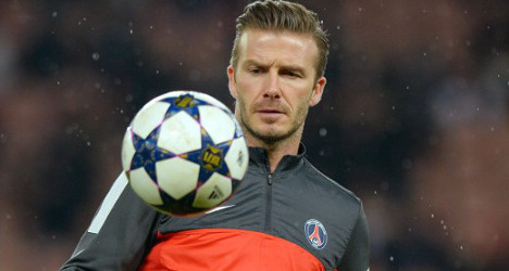 Beckham tipped to start against Nancy