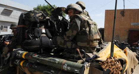 French death toll in Mali rises to five