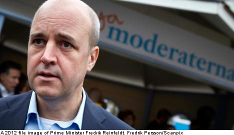 Reinfeldt calls for tough approach on crime
