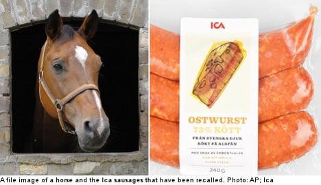 Horsemeat fears prompt new Swedish recall