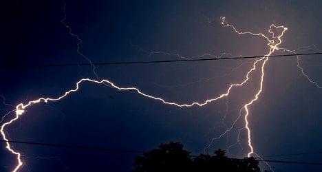 Violent storms batter Canary Islands