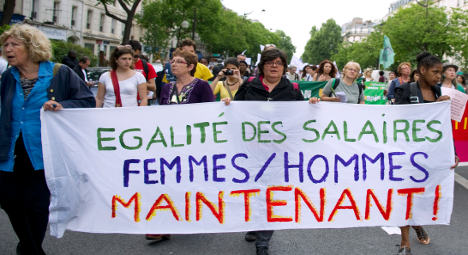 Wages for French men and women lack 'égalité'