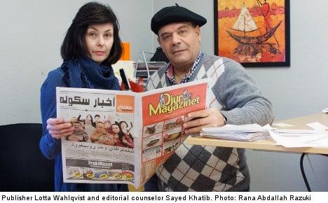 Arabic newspaper lures fresh Malmö advertisers