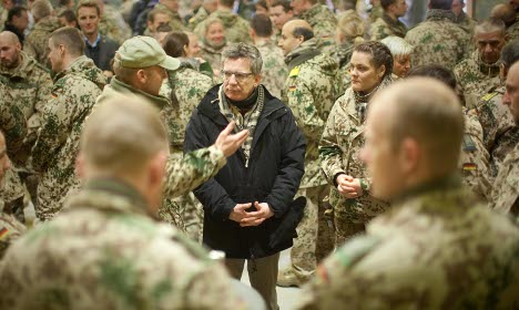 Minister regrets tone of 'whiny' soldiers comment