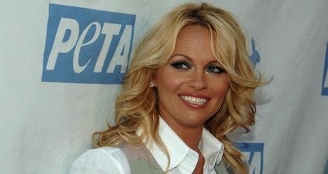 Pamela Anderson hosts Swiss nightclub soirees