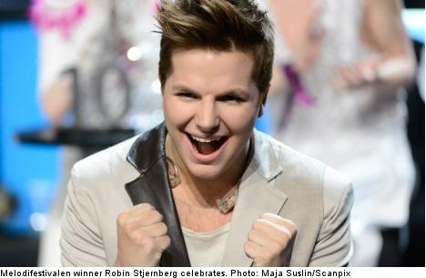 Robin Stjernberg wins Melodifestivalen