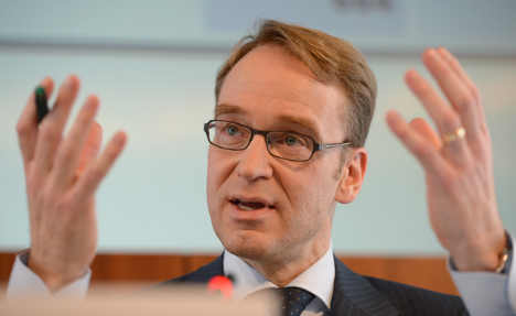 Bundesbank chief: No bailout guarantee for Italy