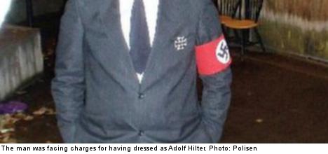 Dressing like Hitler not a crime: Swedish court
