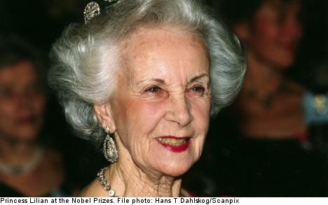 Sweden's Princess Lilian dead at 97