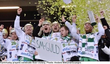 Hammarby take home Sweden's bandy final