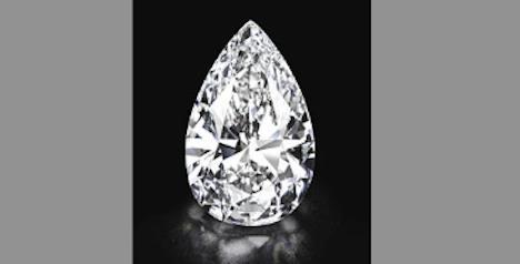 'Perfect' white diamond set for Geneva auction