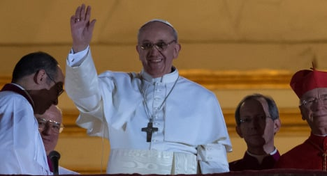 France salutes election of Pope Francis