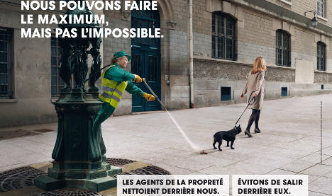 Parisians urged to be 'accountable' for dog poo