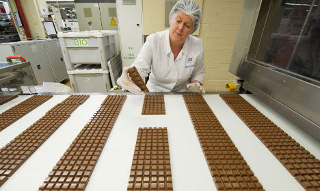 Germans 'can't eat any more chocolate'