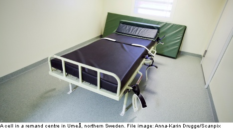 'Torture-like' conditions for kids in Swedish jails