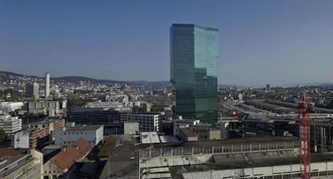 Workers forced to flee tallest Swiss tower