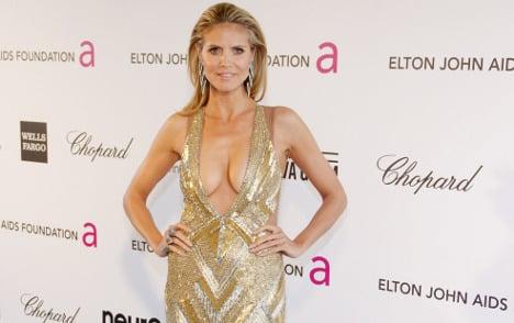 Outrage over Heidi Klum 'hot as Holocaust' gibe