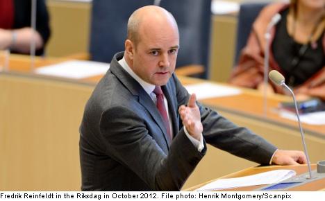 PM slams Billström for 'blonde, blue-eyed' line