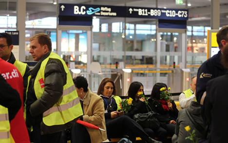 Airport security strike hits Cologne-Bonn again