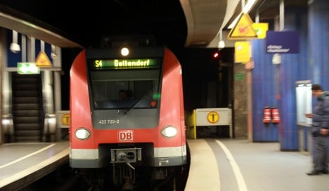 Munich man rolled over by train survives