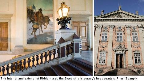 'Swedish aristocratic women should be equal'