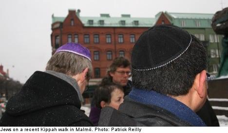 Jews hit Malmö streets to counter anti-Semitism