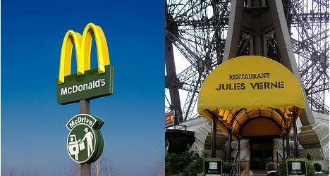 Fast food dethrones traditional French cuisine