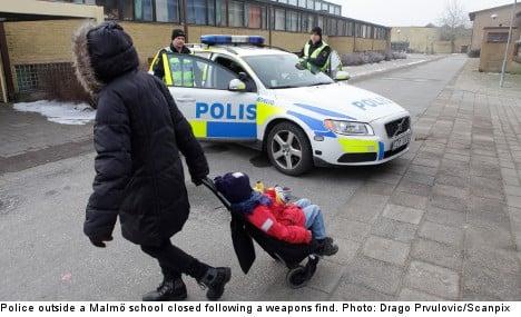 Malmö pupils given school shooting training