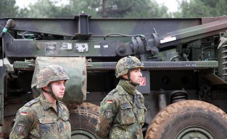Bundeswehr 'bullied' by Turkish troops