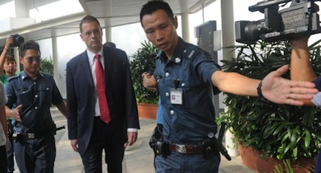 Swiss bank exec 'tricked' by Singapore prostitute