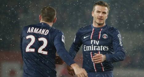 Beckham and PSG set for Champions League clash