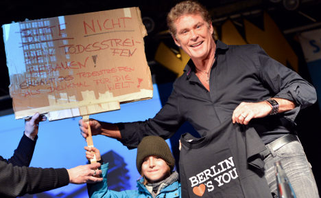 How I learned to stop laughing and love The Hoff