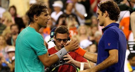 Nadal thrashes hurt Federer at Indian Wells