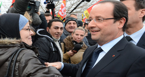 Hollande 'most unpopular president in 30 years'