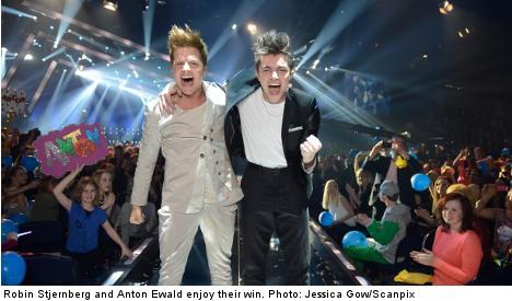 Ewald and Stjernberg nab song fest final spots