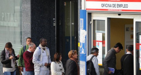 Spanish jobless rate hits record high