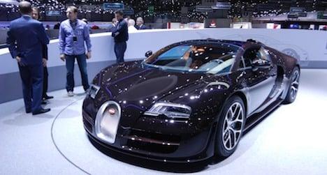 Geneva car show registers drop in visitors
