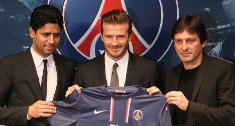 PSG's Beckham highest paid player in world
