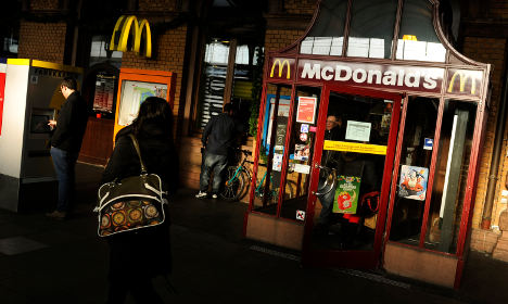 McDonald's pays for kids' consumer lessons