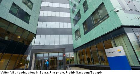 Swedish energy giant Vattenfall cuts 2,500 jobs