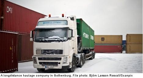 Most Swedish truck drivers 'too fast': report