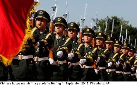 China's arms exports soar: Swedish think tank