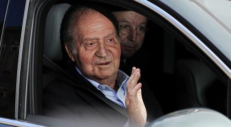 King leaves hospital after back surgery