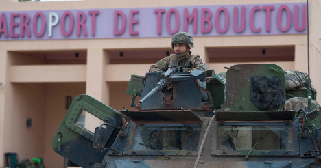 France: UN 'to vote' on Mali force next month