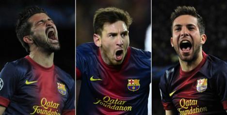 Barça banish doubts with epic comeback