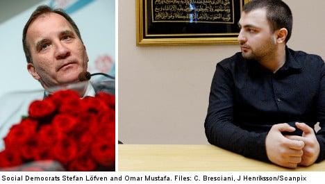 Mustafa must 'share party values': Löfven