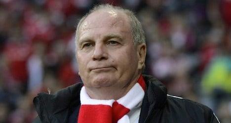 Munich FC boss in Swiss bank tax evasion probe